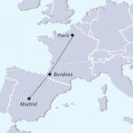 mapa del tour recorrido completo