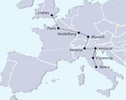 Recorrido Europa Tours Collection