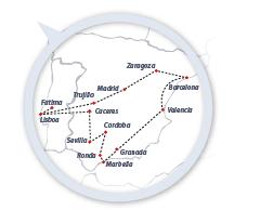 ruta península portugal