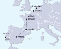 mapa tour vacaciones para todos