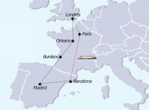Recorrido Tour pueblos de Europa