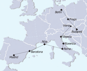 Tour Mediterraneo e Imperiales